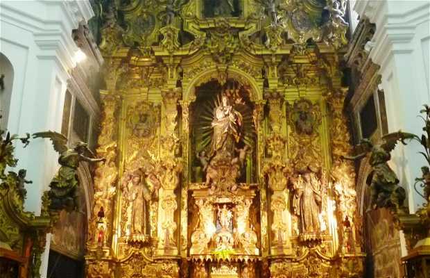 Dormition of the Virgin of the monastery of Santa Rosalia