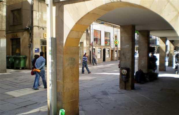 Main Street of Reinosa
