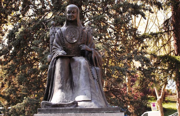 Monumento a Suor Juana Inés de la Cruz Madrid