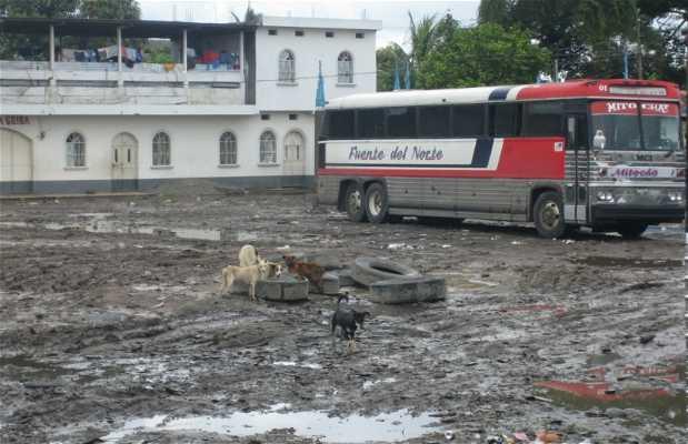 Chicken Bus a Città del Guatemala