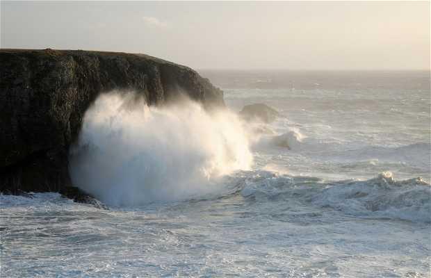 Cliff of Vazen, Bangor, France