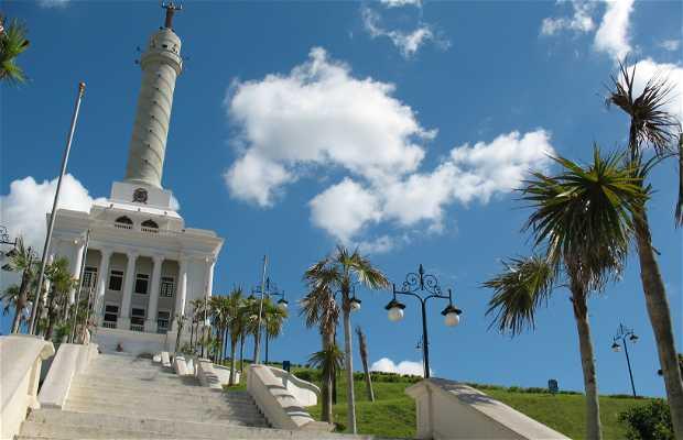 Monumento a los Héroes de la Restauración, lugar de encuentro