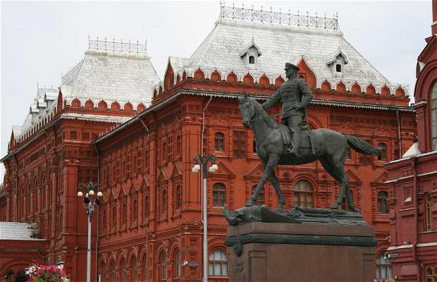 Statue of Zhukov