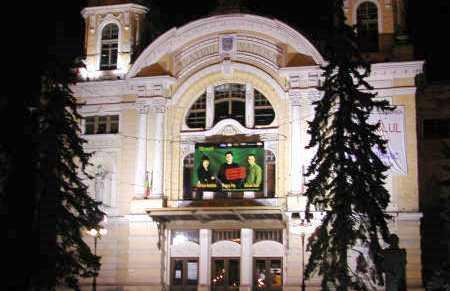Teatro nazionale Lucian Blaga a Cluj Napoca