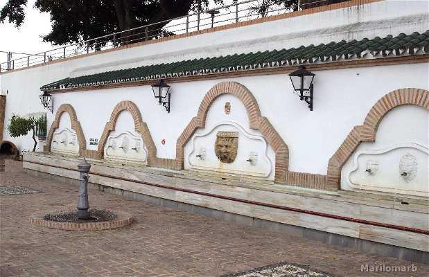 Fuente de la Plaza Principes de España
