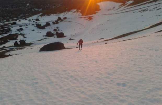 Montaña Blanca - Teide - Boca Tauce
