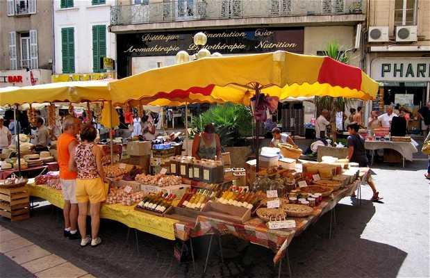 Mercado de Hyeres,Francia