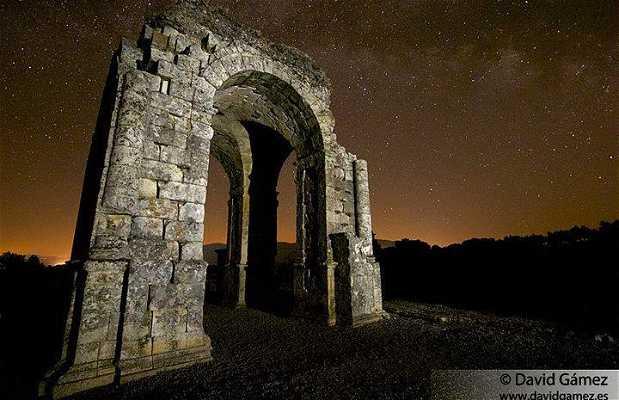 Las ruinas de Cáparra