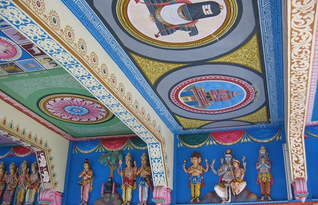 Templio tamil en Grand Baie