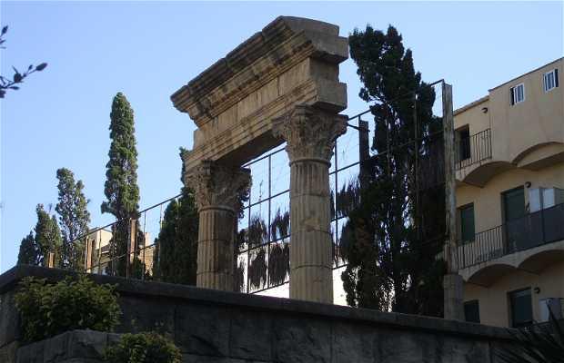Le forum romain de Tarragone