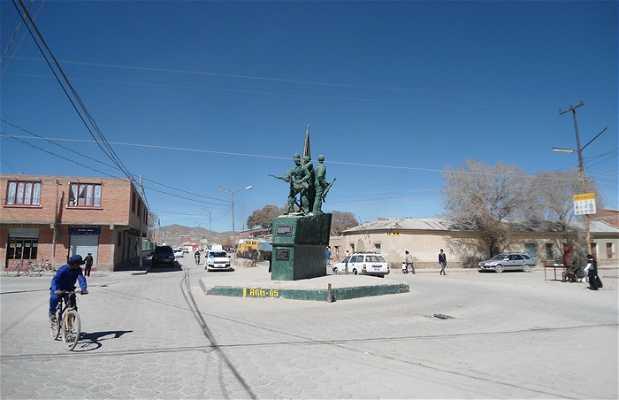 Monumento a la Guerra del Chaco
