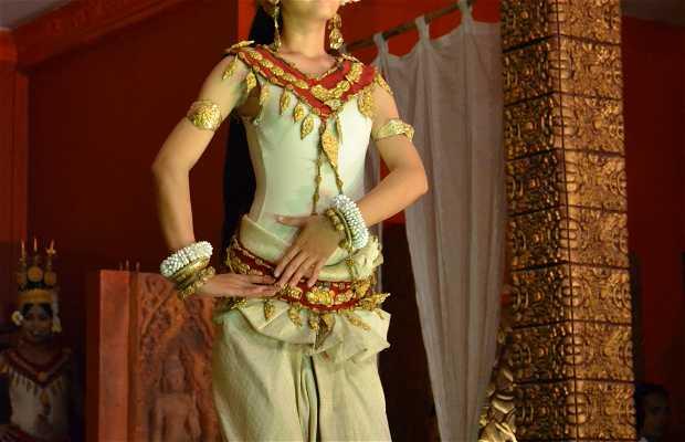 Espectáculo de danza Apsará
