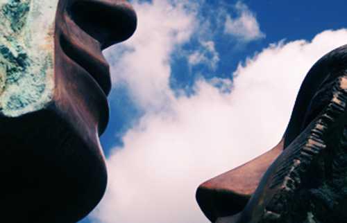"""Faces"", glacis promenade"