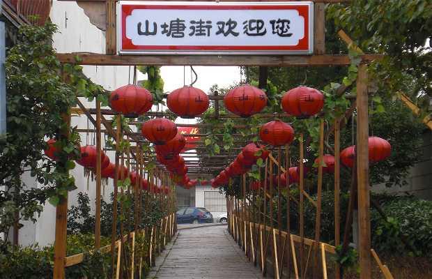 Pedestrian ancient Suzhou