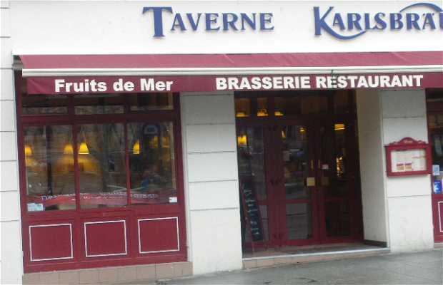 Brasserie Restaurant TTaverne Karisbrau