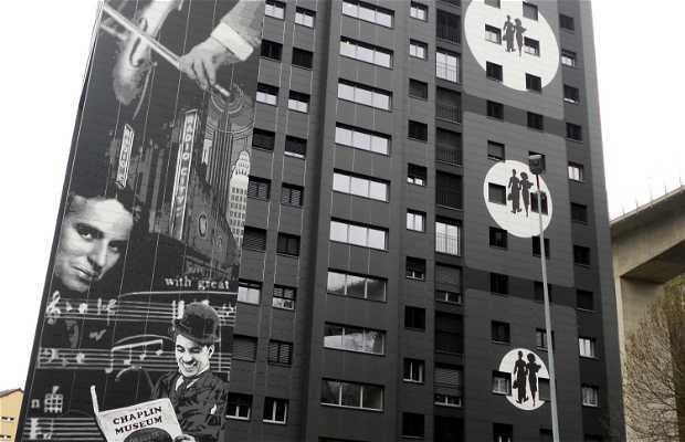 Murales de Charles Chaplin