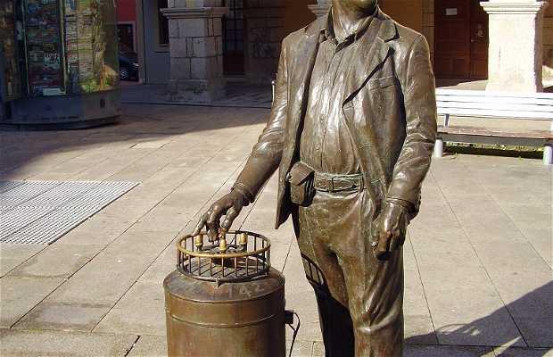 Escultura del Barquillero
