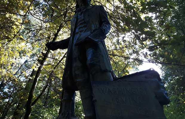 Estatua de Washington Irving