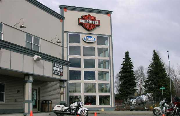 Casa dell'Harley Davidson di Anchorage