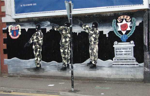 Murales de la calle Beechmount