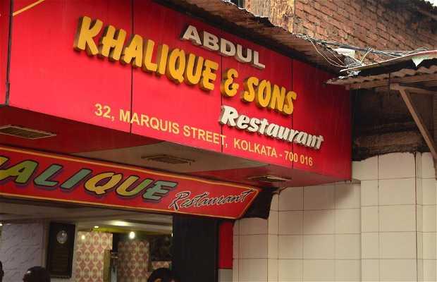 Ristorante Abdul Khalique & Sons, Calcutta