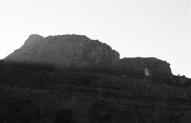 La roca de Roquebrune