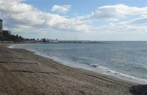 Spiaggia de la Fontanilla a Marbella