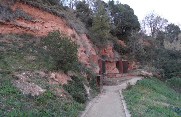 The caves of Sant Oleguer