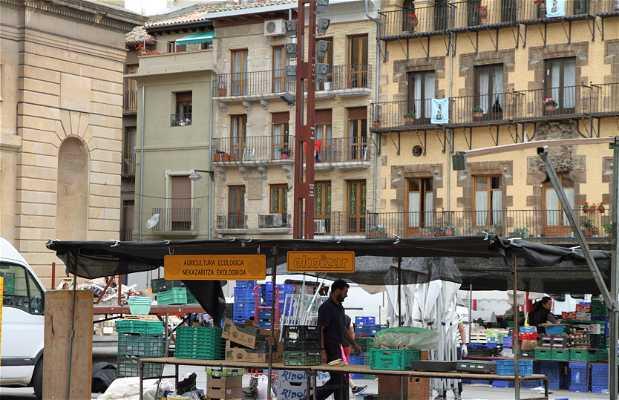 Mercado en Estella