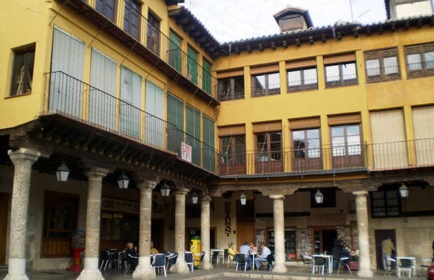 Tordesillas Main Square