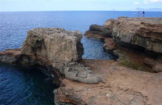 Piscinas naturales de can marroig en formentera 1 for Fotos de piscinas naturales