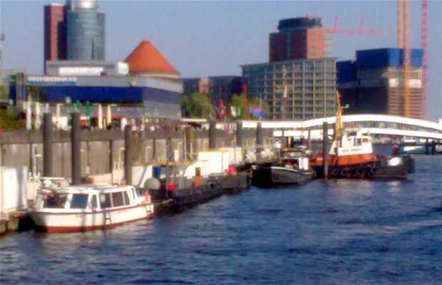 Passeio de barco pelos canais de Hamburgo