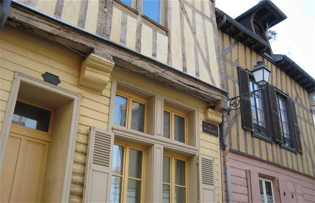 Les maisons à colombages de Troyes