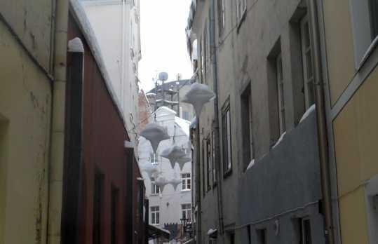 Troksni iela - La strada più stretta di Riga