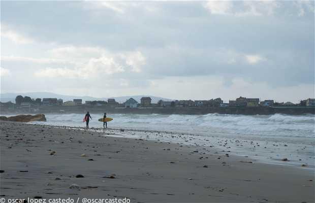 Mariña Lucense beach