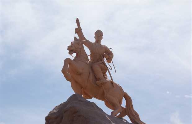 Estatua Damdin Sükhbaatar