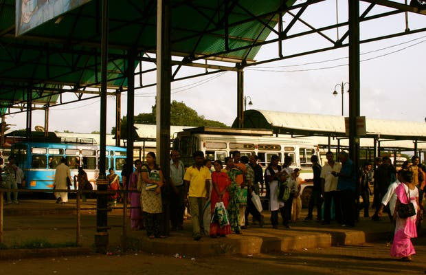 Estación de autobuses de Panjim