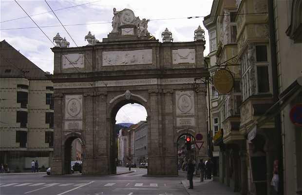 Arc de triomphe d'Innsbruck