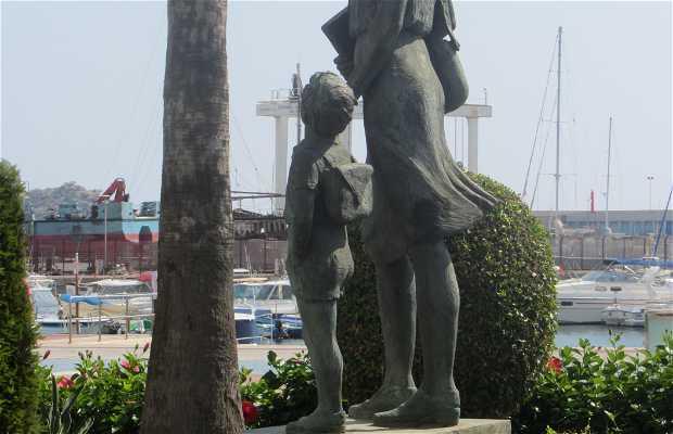 Monumento en homenaje a la mujer aguileña