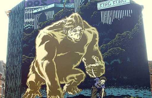 Mural Mezzo - Le roi des mouches