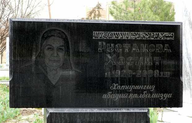 Cementerio de Samarcanda
