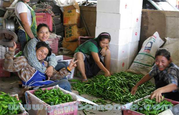 Mercado de frutas y hortalizas de Chakpet