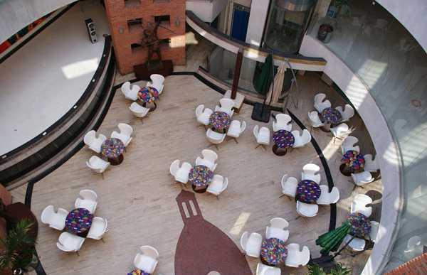 Restaurante La Pascana center