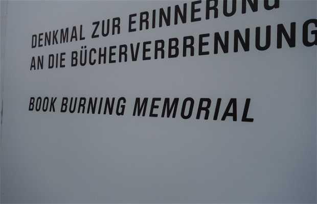 Mémorial des livres brulés