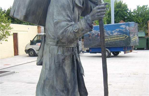 Escultura al peregrino