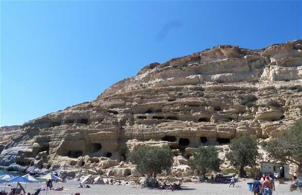 Cuevas de Matala