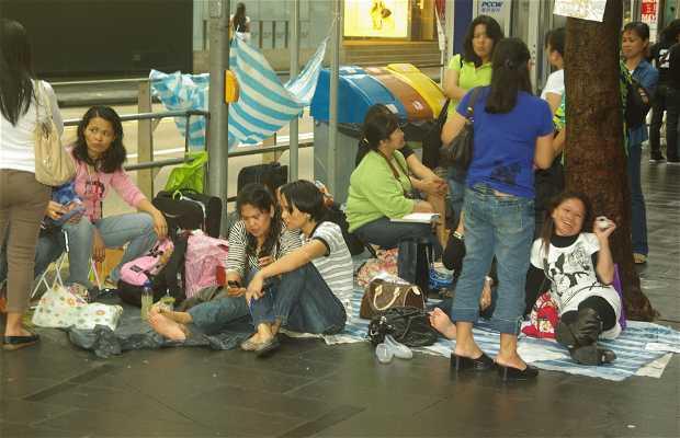 La pequeña Manila en HK
