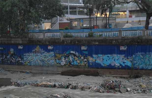 Le street art à Kuala Lumpur