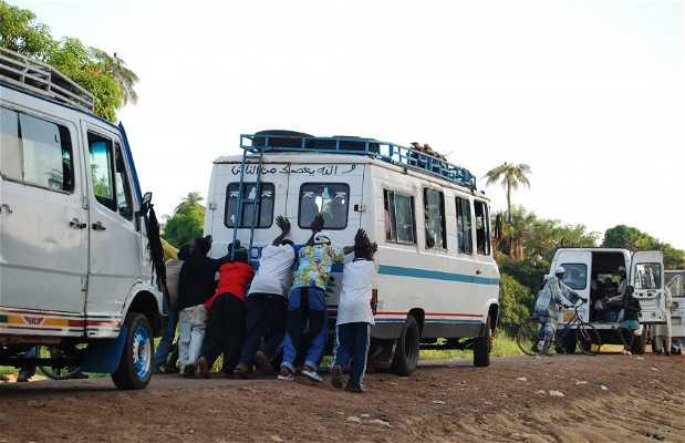Transporte en Gambia