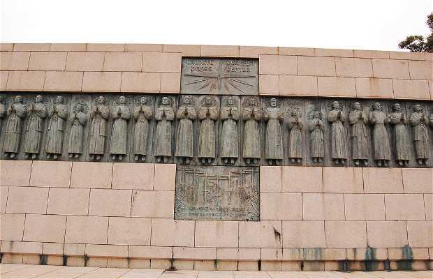 Monumento a los mártires cristianos